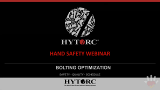 HAND SAFETY How to eliminate hazardous bolting pinch points with HYTORC Technology.mp4
